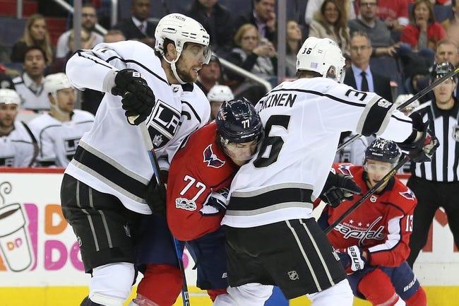 Los Angeles Kings vs. Washington Capitals - 3/8/18 NHL Pick, Odds, and Prediction