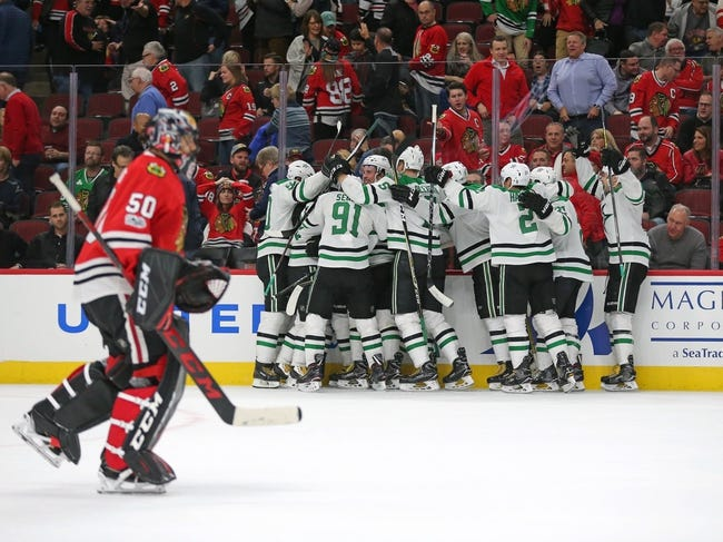 Dallas Stars vs. Chicago Blackhawks - 12/2/17 NHL Pick, Odds, and Prediction