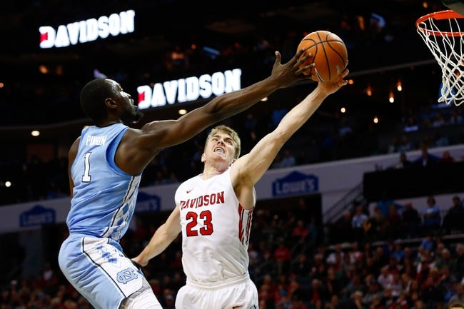 NCAA BB | Davidson Wildcats (9-3) at North Carolina Tar Heels (8-3)