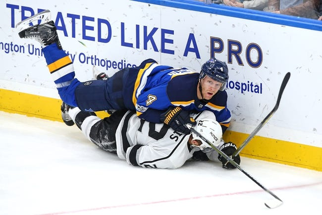 Los Angeles Kings vs. St. Louis Blues - 3/10/18 NHL Pick, Odds, and Prediction