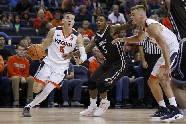 West Virginia vs. Virginia - 12/5/17 College Basketball Pick, Odds, and Prediction