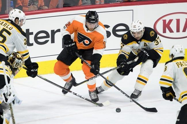 Boston Bruins vs. Philadelphia Flyers - 3/8/18 NHL Pick, Odds, and Prediction