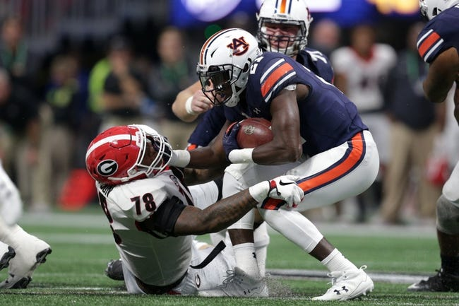 Auburn vs. UCF - 1/1/18 College Football Pick, Odds, and Prediction