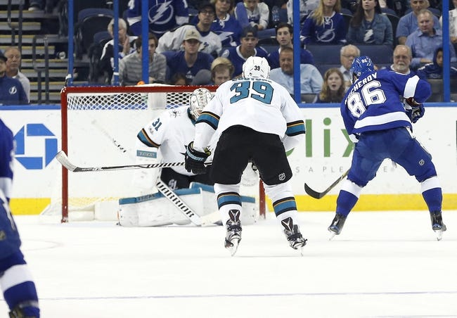 NHL   San Jose Sharks - Tampa Bay Lightning
