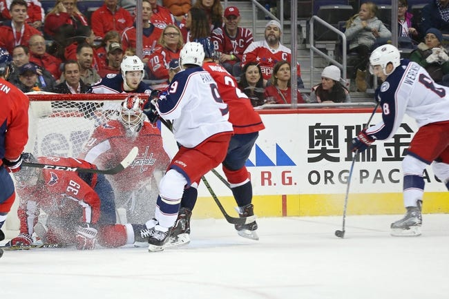 Columbus Blue Jackets vs. Washington Capitals - 2/6/18 NHL Pick, Odds, and Prediction
