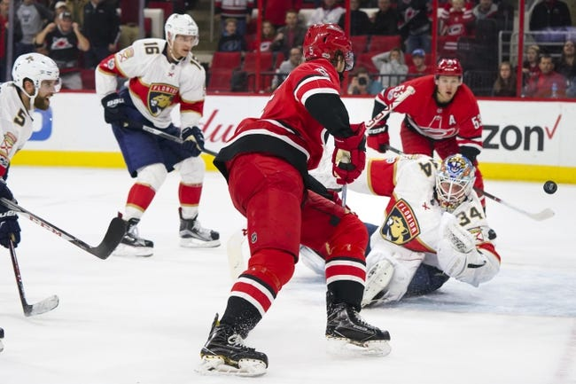 Florida Panthers vs. Carolina Hurricanes - 4/2/18 NHL Pick, Odds, and Prediction