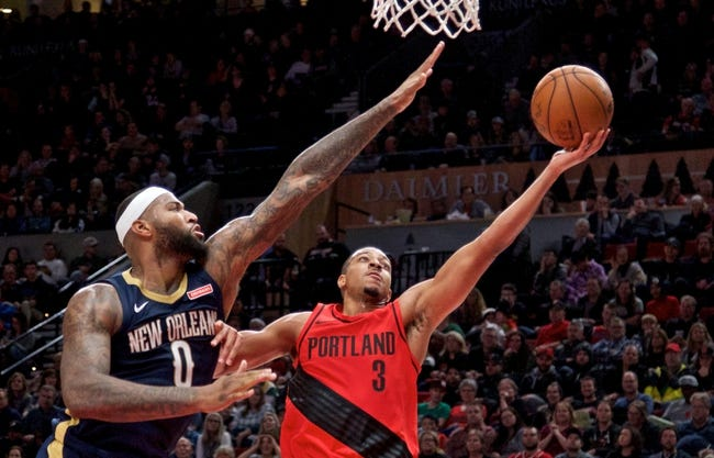 New Orleans Pelicans vs. Portland Trail Blazers - 1/12/18 NBA Pick, Odds, and Prediction