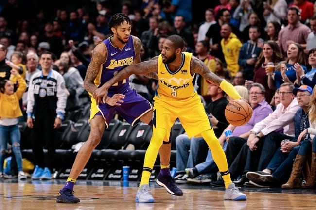 Denver Nuggets vs. Los Angeles Lakers - 3/9/18 NBA Pick, Odds, and Prediction