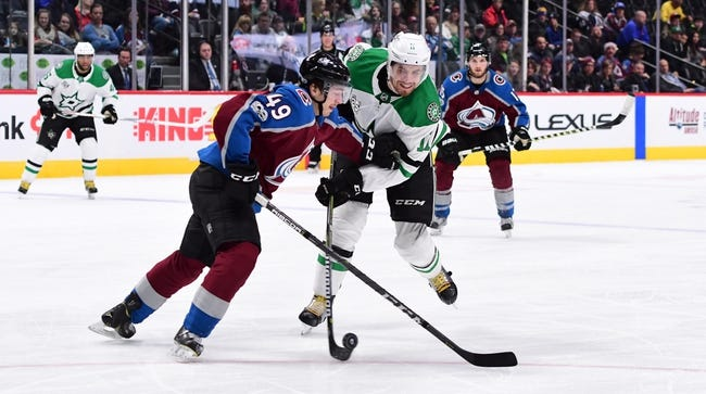 Dallas Stars vs. Colorado Avalanche - 1/13/18 NHL Pick, Odds, and Prediction