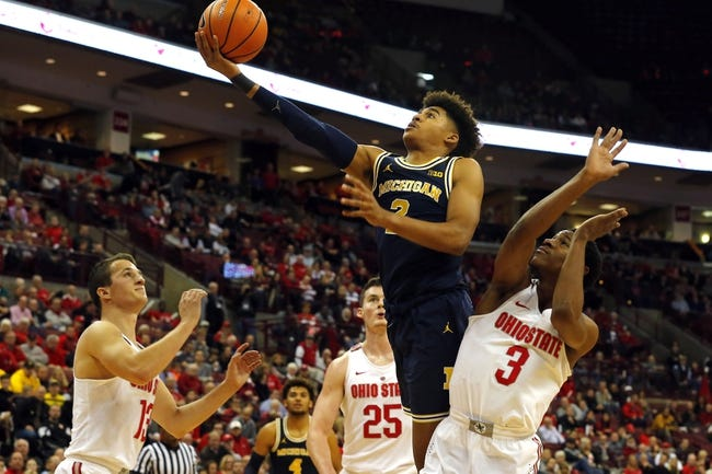Michigan vs. Ohio State - 2/18/18 College Basketball Pick, Odds, and Prediction