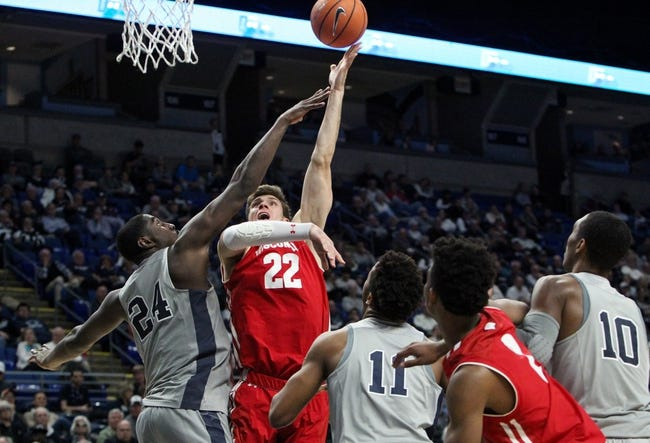 NCAA BB   Wisconsin at Penn State