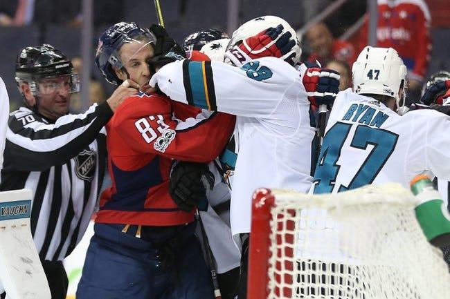 San Jose Sharks vs. Washington Capitals - 3/10/18 NHL Pick, Odds, and Prediction
