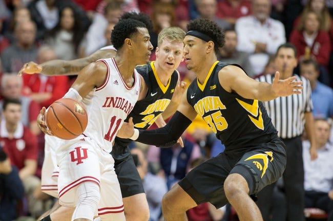 Iowa vs. Indiana - 2/17/18 College Basketball Pick, Odds, and Prediction