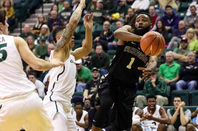 NCAA BB | Charlotte 49ers (2-4) at Wake Forest Demon Deacons (4-3)