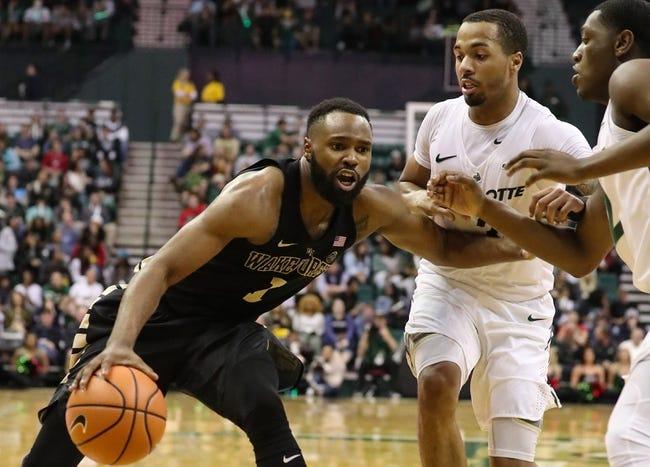 NCAA BB   Rice at Charlotte