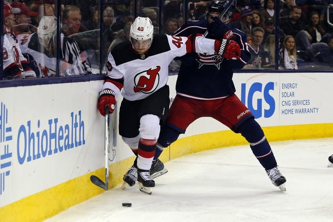 Columbus Blue Jackets vs. New Jersey Devils - 2/10/18 NHL Pick, Odds, and Prediction