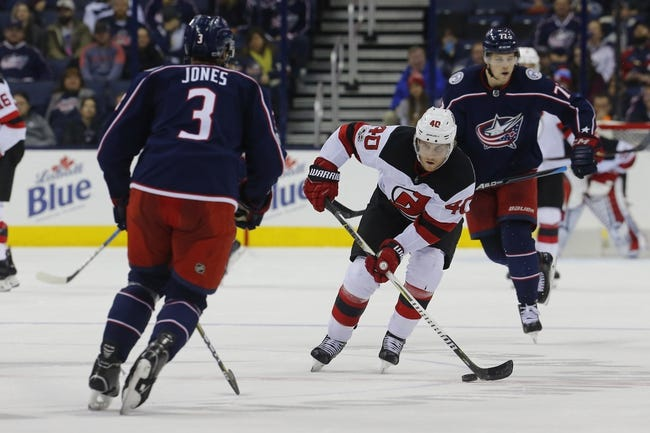 New Jersey Devils vs. Columbus Blue Jackets - 12/8/17 NHL Pick, Odds, and Prediction