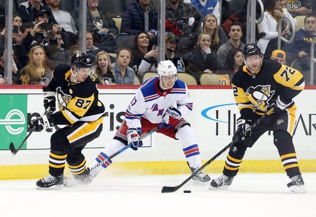 Pittsburgh Penguins vs. New York Rangers - 1/14/18 NHL Pick, Odds, and Prediction