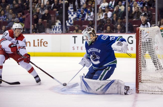 Carolina Hurricanes vs. Vancouver Canucks - 2/9/18 NHL Pick, Odds, and Prediction