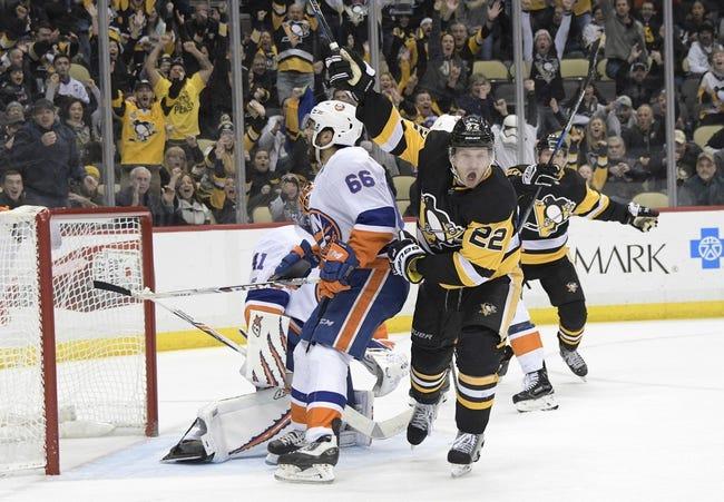 NHL | Pittsburgh Penguins (20-19-3) at New York Islanders (20-16-4)