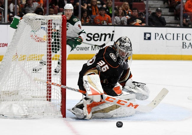Minnesota Wild vs. Anaheim Ducks - 2/17/18 NHL Pick, Odds, and Prediction