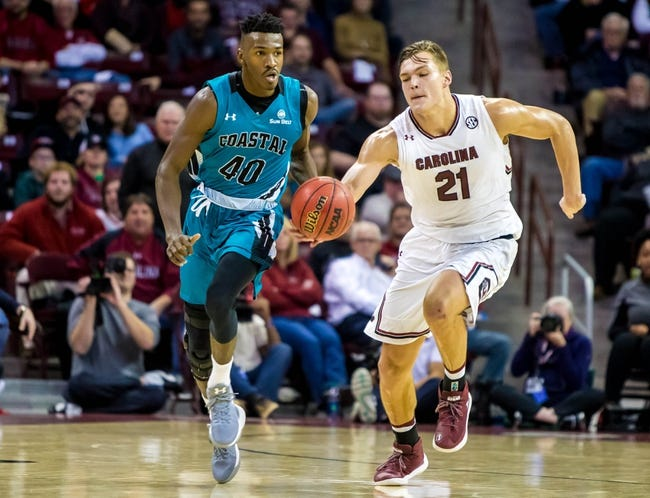 Coastal Carolina vs. South Alabama - 2/17/18 College Basketball Pick, Odds, and Prediction