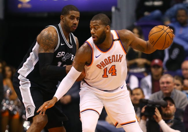 San Antonio Spurs vs. Phoenix Suns - 1/5/18 NBA Pick, Odds, and Prediction