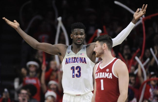 Alabama vs. Arizona - 12/9/18 College Basketball Pick, Odds, and Prediction