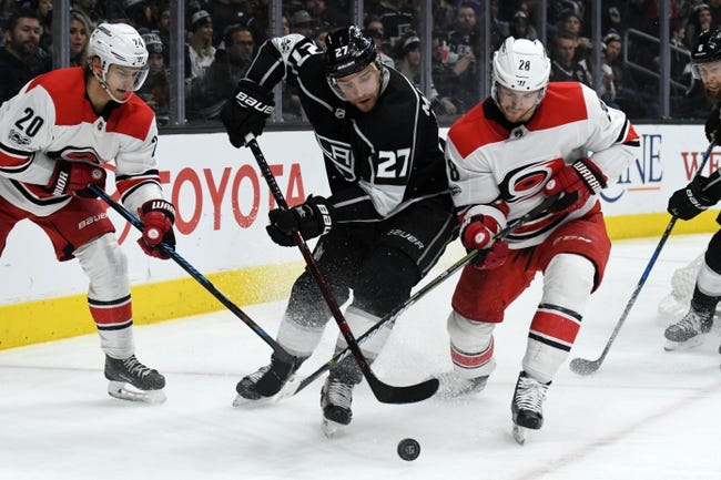NHL | Los Angeles Kings (30-20-5) at Carolina Hurricanes (26-21-9)