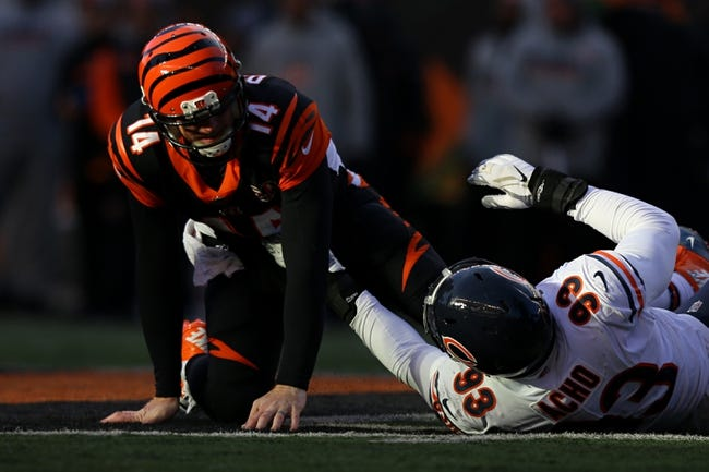 Chicago Bears at Cincinnati Bengals - 8/9/18 NFL Pick, Odds, and Prediction
