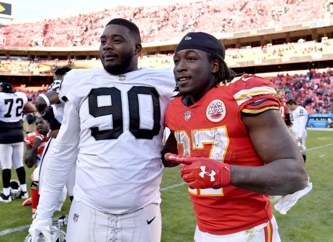 Kansas City Chiefs at Oakland Raiders - 12/2/18 NFL Pick, Odds, and Prediction
