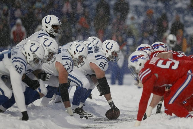 Buffalo Bills at Indianapolis Colts - 10/21/18 NFL Pick, Odds, and Prediction