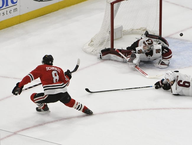 Arizona Coyotes vs. Chicago Blackhawks - 2/12/18 NHL Pick, Odds, and Prediction