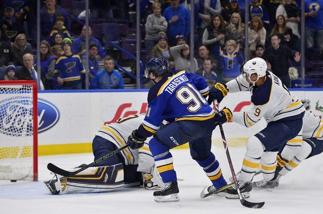 Buffalo Sabres vs. St. Louis Blues - 2/3/18 NHL Pick, Odds, and Prediction