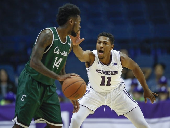 NCAA BB   Chicago State Cougars (3-9) at Northwestern Wildcats (7-3)