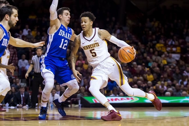 Minnesota vs. FAU - 12/23/17 College Basketball Pick, Odds, and Prediction