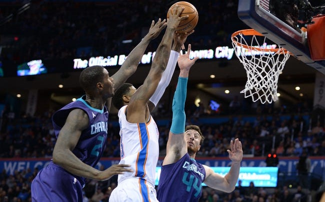 Charlotte Hornets vs. Oklahoma City Thunder - 1/13/18 NBA Pick, Odds, and Prediction