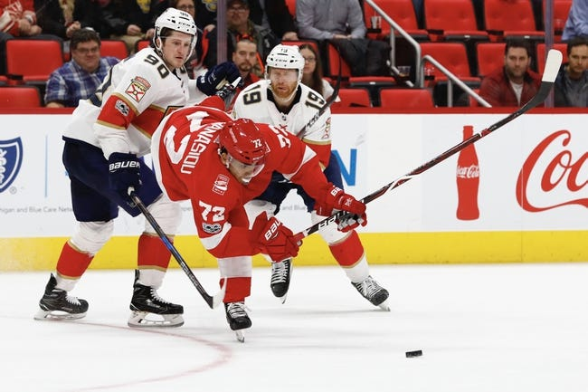 Detroit Red Wings vs. Florida Panthers - 1/5/18 NHL Pick, Odds, and Prediction