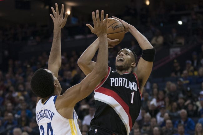 Portland Trail Blazers vs. Golden State Warriors - 2/14/18 NBA Pick, Odds, and Prediction