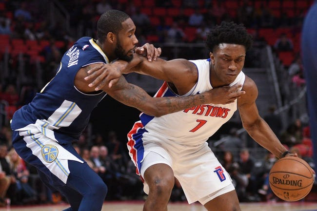 Denver Nuggets vs. Detroit Pistons - 3/15/18 NBA Pick, Odds, and Prediction