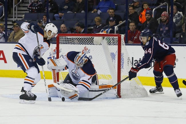 Edmonton Oilers vs. Columbus Blue Jackets - 3/27/18 NHL Pick, Odds, and Prediction