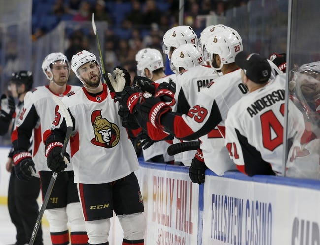Ottawa Senators vs. Buffalo Sabres - 2/15/18 NHL Pick, Odds, and Prediction