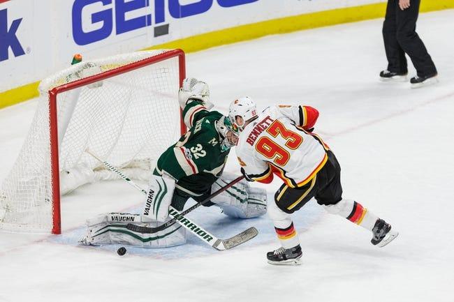 Minnesota Wild vs. Calgary Flames - 1/9/18 NHL Pick, Odds, and Prediction