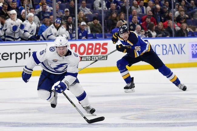 NHL | St. Louis Blues at Tampa Bay Lightning