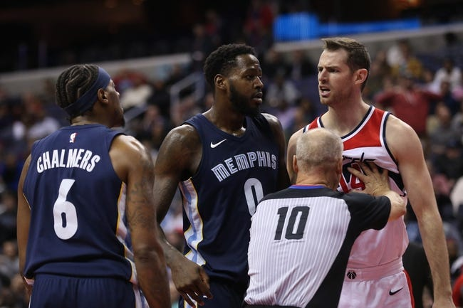 Memphis Grizzlies vs. Washington Wizards - 1/5/18 NBA Pick, Odds, and Prediction