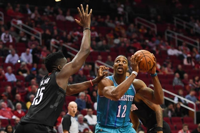 NBA | Houston Rockets at Charlotte Hornets