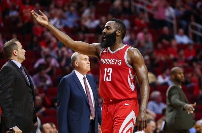 Toronto Raptors vs. Houston Rockets - 3/9/18 NBA Pick, Odds, and Prediction