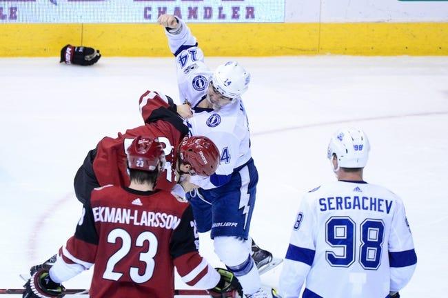 Tampa Bay Lightning vs. Arizona Coyotes - 3/26/18 NHL Pick, Odds, and Prediction