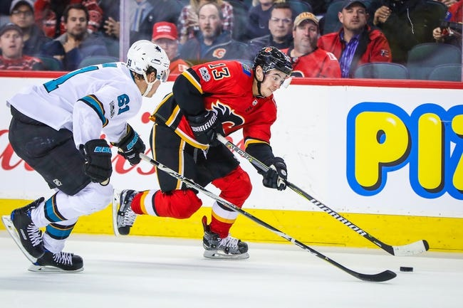 NHL | Calgary Flames (18-15-3) at San Jose Sharks (19-11-4)