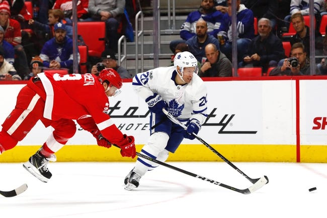 Detroit Red Wings vs. Toronto Maple Leafs - 2/18/18 NHL Pick, Odds, and Prediction
